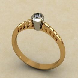 Женское кольцо 0326