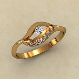 Женское кольцо 0327