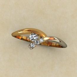 Женское кольцо 0328