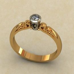Кольцо женское 0331
