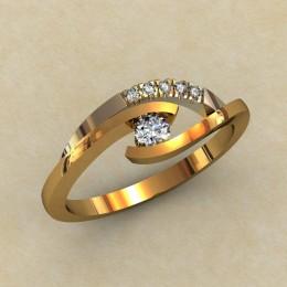 Кольцо женское 0332