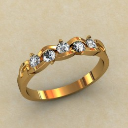 Кольцо женское 0333