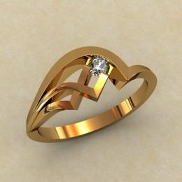 Кольцо женское 0334