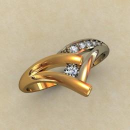 Кольцо женское 0336