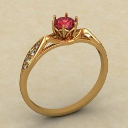 Кольцо женское 0337