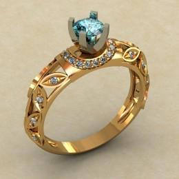 Кольцо женское 0339