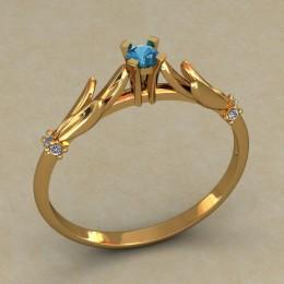 Кольцо женское 0501