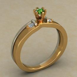 Кольцо женское 0502