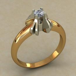 Кольцо женское 0505