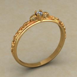 Кольцо женское 0506