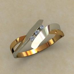 Кольцо женское 0508