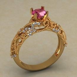 Кольцо женское 0510