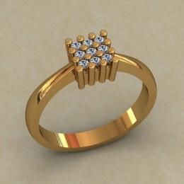 Кольцо женское 0511