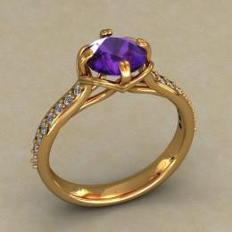 Кольцо женское 0512