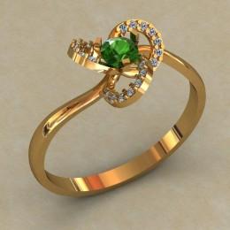 Кольцо женское 0514