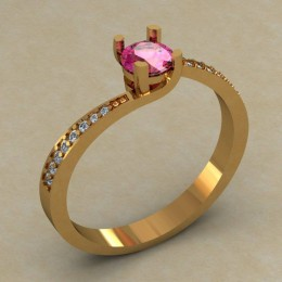 Кольцо женское 0516