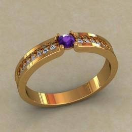 Кольцо женское 0517