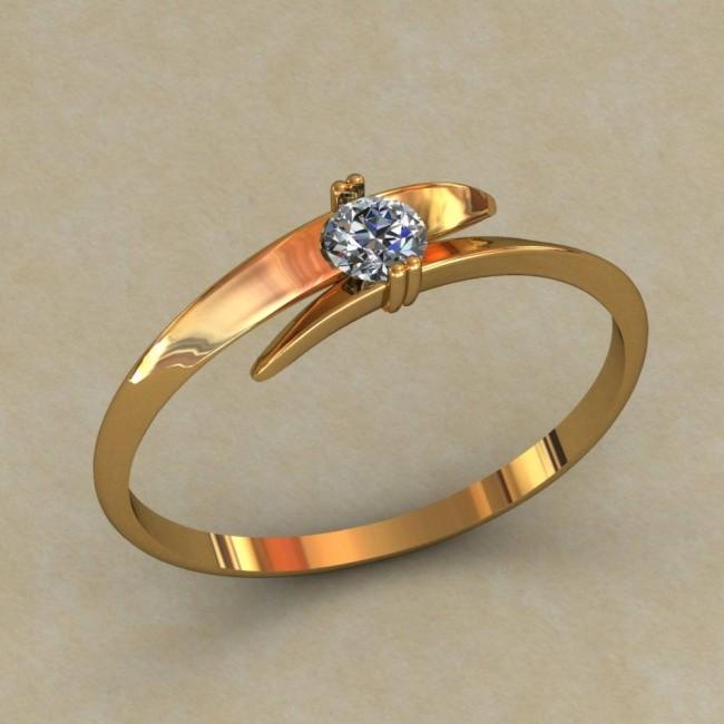 Кольцо женское 0518