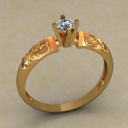 Кольцо женское 0519