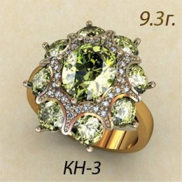 Женское кольцо кн-3