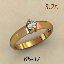 Кольцо женское кб-37