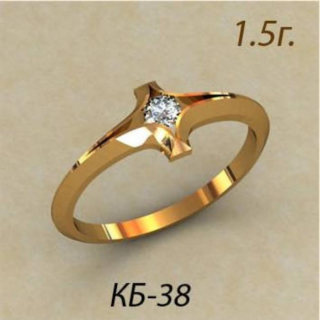 Кольцо женское кб-38