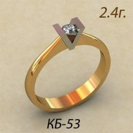 Кольцо женское кб-53