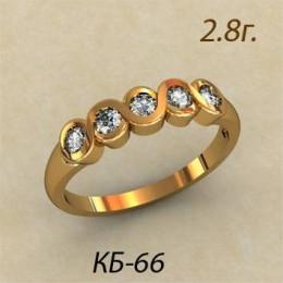 Кольцо женское кб-66