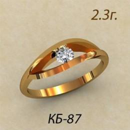 Кольцо женское кб-87