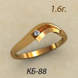 Кольцо женское кб-88
