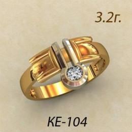 Женское кольцо ке-104