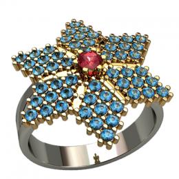 Женский перстень 1363