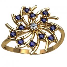 Женское кольцо 2540