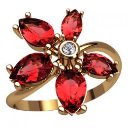 Женское кольцо 2568