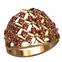 Женский перстень 2572