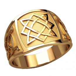 Мужское кольцо 3128