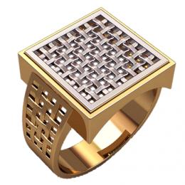 Мужское кольцо 3139