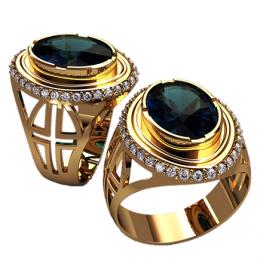 Мужское кольцо 3163
