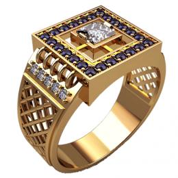 Мужское кольцо 3164