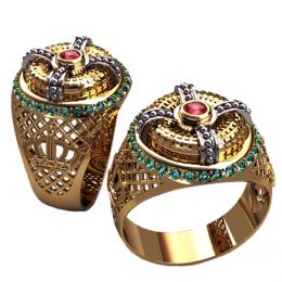 Мужское кольцо 3165