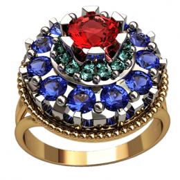 Женское кольцо 1302