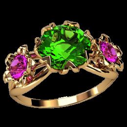 Женское кольцо 2576